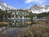 Gilbert Lake was thawed . . . last weekend it was frozen. (10,500')