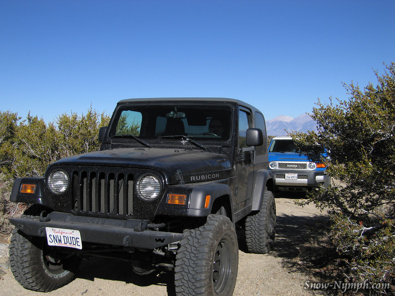 The Rubi and the Cooler spent the day playing on Wheeler Crest