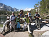 Mtflyer, Snow Nymph, Cat, Trailtrekker, CinnamonGirl, Lewis at Heart Lake