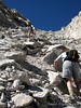 Bill passes us below the summit