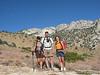 Snow Nymph, Tomcat and Sierra Sparkles at the Owens Peak Trailhead (5,400')