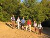 Tomcat, Lisa, Nathan, Rafael, Sparkles and Snow Nymph at Sage Flat Trailhead (5,800')