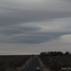 Lenticular clouds over Hwy 14