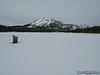 Mammoth Mountain from Lake Mary Marina