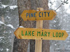 Doing the Lake Mary Loop today, Bummed I couldn't go to Pine City (trail not open for walkers)
