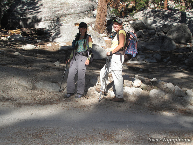 Cori and Rach at Whitney Portal (8350')
