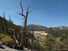Looking back at Trail Peak