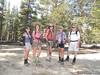 Snow Nymph, Sierra sparkles, Rachel, Trailtrekker and MtFlyer at 9,916'