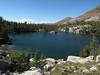 Skelton Lake on the way down