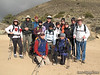 Alice, Stephen, Matt, Lisa, glenn, Jorge, Windy, Ted, Jinny, Tomcat, Mike (back), Rafael and Snow Nymph (front), and Jamie hiding behind Rafael