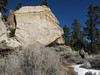 Jan 2, 2010   Rachel and big boulder