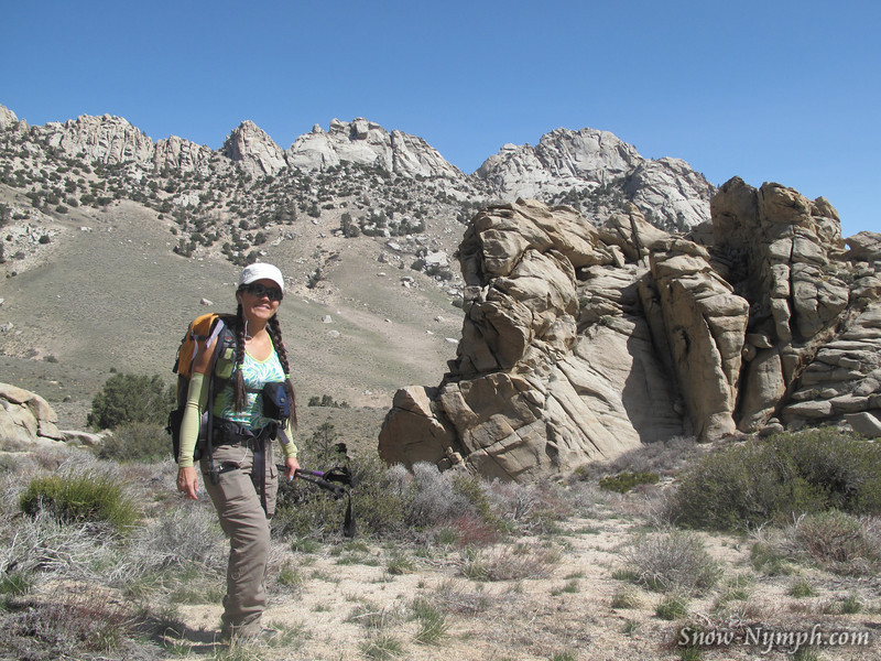 End of the road, Indian Wells Canyon