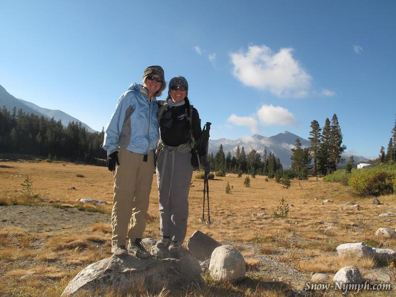 Sue and Cori at Tioga Pass (9,945')