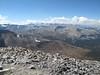 Ridge to Mt Gibbs and view SW