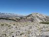 Looking ahead at San Joaquin Ridge, Two Teats, and San Joaquin Mountain (just past TT)