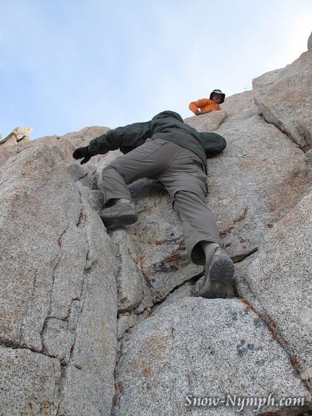 Climbing Muir