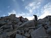 BobH and DaveG starting up to Mt Muir