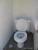Flush toilets at May Lake