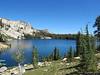 Looking back at May Lake