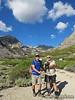 Helped Nathan set up car shuttle for Kearsarge Pk hike.  Matthew and Nathan starting their Kearsarge Peak hike