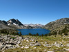 A different view of Duck Lake and Silver Divide