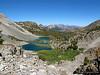 Mammoth Mountain and Barney Lake, tarn, Red Lake, Skelton Lake