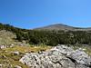 Getting closer to Duck Lake Peak