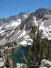 Heart Lake and University Peak