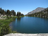 Gilbert Lake and Independence Peak