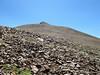 Second false summit of Mt Gibbs