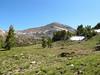 Mt Dana as we're climbing ridge to Mt Gibbs