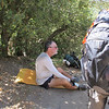 Another PCT Thruhiker.  John gave him a quart of water