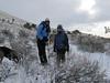 11  Talus, Tracie and Cori at Walker Pass  Trailhead