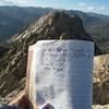 Lamont Peak Register (3x for me)