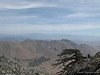 Telescope Peak is the farthest on the horizon (middle)