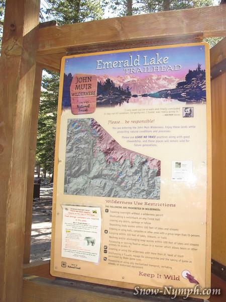 Emerald Lake TH (9,133')