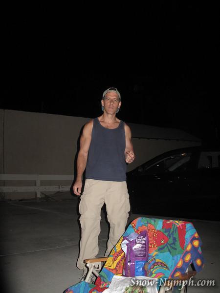 June 30, 2012  Salim drove up Saturday night to hike Sunday