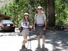- Cori and Salim at North Fork Big Pine trailhead