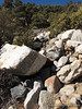 Thru boulders