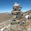 A few big cairns that were not here a year ago when I hiked this last