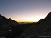 Sunrise, Lower Boy Scout Lake below