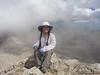Cori on North Peak summit (photo by Ranboze)