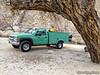 John's truck at Sand Cyn Rd
