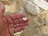 Tiny quartz heart