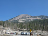 Mammoth Mtn from Horseshoe Lake parking