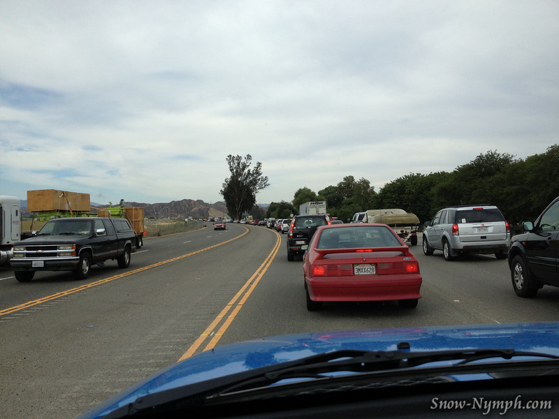 Tues drive - Accident near Santa Clarita
