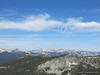 Looking West:  Cathedral Pk, Mt Hoffman, Tuolumne Pk