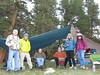 Friday:  Joe, Other Chris, Big Chris, Antony, Sooz, Cori at camp
