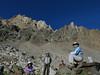 8 - Cori, Gordon, Alex and Sue with Mt Humphreys