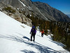 To Bench Lake (photo by Bob Huey)